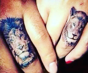 tatto, animal, and finger image
