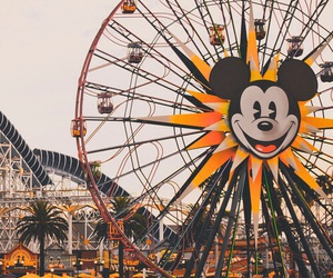 disneyland, disney, and mickey mouse image