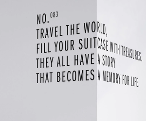 travel, quote, and memories image