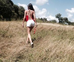 girl, walk, and fitspo image
