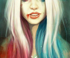 harley quinn, suicide squad, and art image