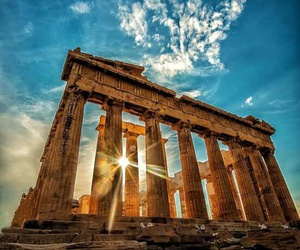 travel, Greece, and Athens image
