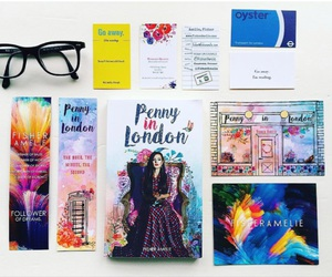 book lovers, bookmarks, and books image