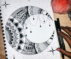 art, artwork, and draw image