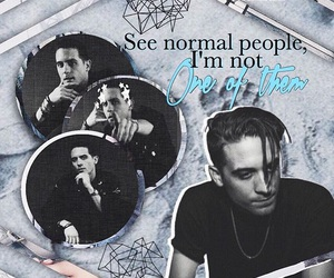 blue, indie, and g-eazy image