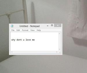 love, grunge, and sad image