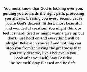 be yourself, blessing, and pray image