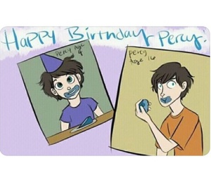 birthday, prophecy, and percy jackson image