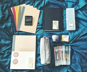 college, school supplies, and office image
