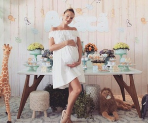 baby shower, candice swanepoel, and cute image