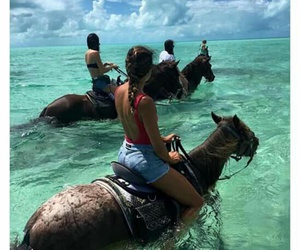 best friends, goals, and horses image