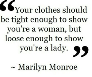 quotes, Marilyn Monroe, and lady image