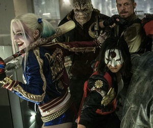 suicide squad, harley quinn, and katana image