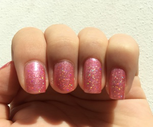 disco, holographic, and nails image