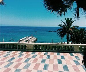 beach, hotel, and italy image