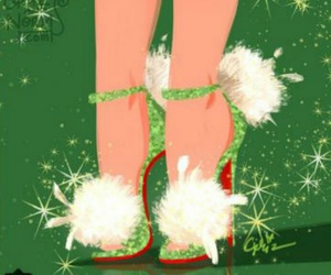 disney, shoes, and tinkerbell image