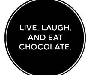 chocolate, desserts, and laugh image