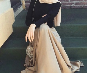 hijab with style and indo-western outfit.... image