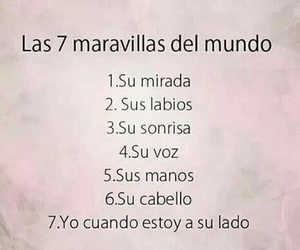 love, maravillas, and frases image