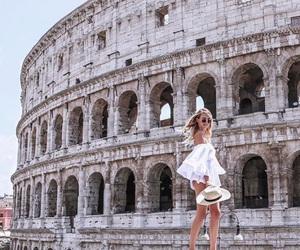rome, fashion, and travel image