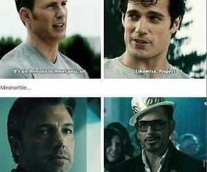 batman, Ben Affleck, and captain america image