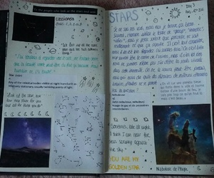 journal, planet, and school image