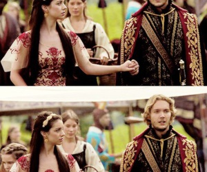 couple, mary stuart, and reign image