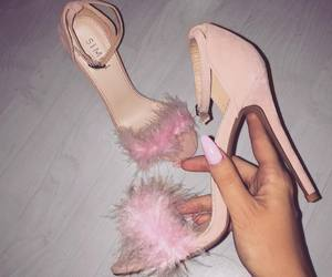 lovely, pink, and style image