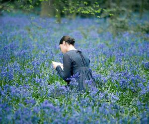 "Abby Cornish in ""Bright Star"" as Fanny Brawne. Does it get any more beautiful than this?  I miss real letters.:"