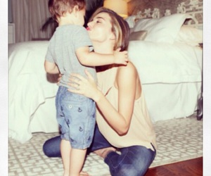 miranda kerr, model, and son image