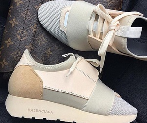 shoes, Balenciaga, and sneakers image