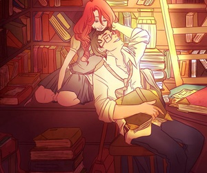 book, harry potter, and james potter image