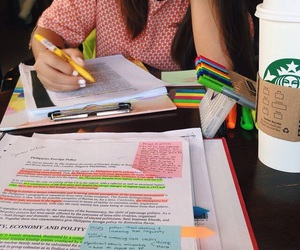 college, study, and notes image