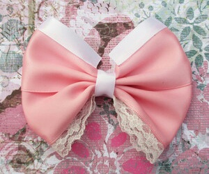 bow, cute bow, and hair bow image
