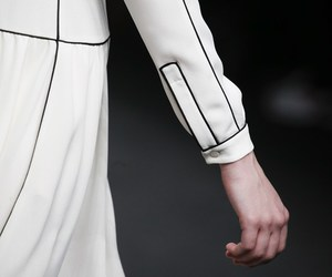 catwalk, detail, and Valentino image
