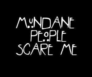 mundane, the mortal instruments, and shadowhunter image