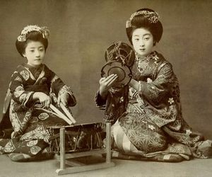 drum, 1900, and japan image