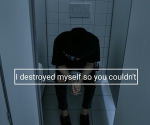 grunge, quote, and sad image
