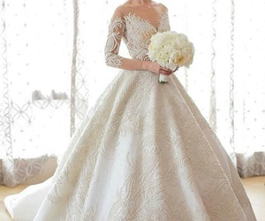beautiful, women, and bride image