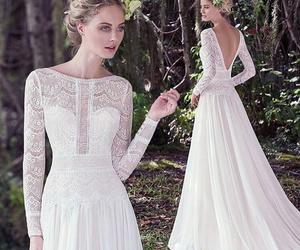 bride, dress, and vintage image
