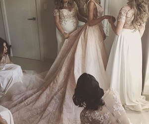 dress, womens, and preparation image