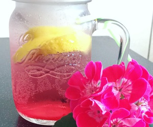 2016, pink, and summerdrink image