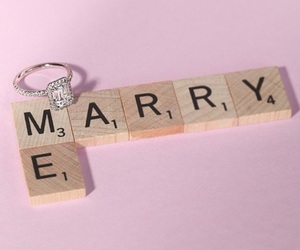 love story, marry me, and ring image