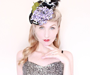 1930s, vintage, and cute hat image