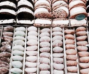 food, blue, and ice cream image