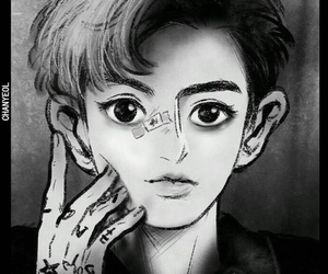 chibi, exo, and park chanyeol image