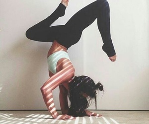 fitness, motivation, and yoga image