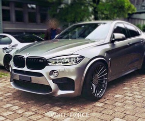 bmw and x6 image