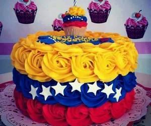 birthday, cake, and venezuela image