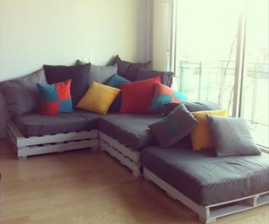 pallet sofa ideas, pallet sofa projects, and diy pallet sofa image